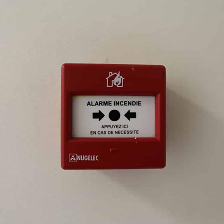 Alarme sécurité Incendie