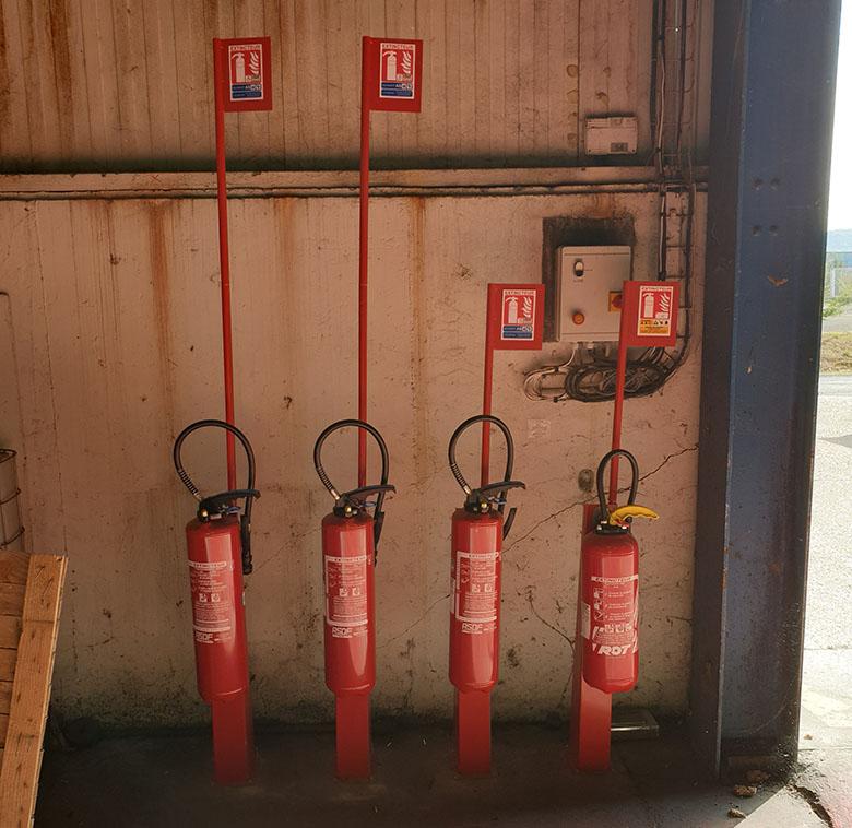 Entreprise d'extincteur incendie basée en région Normandie