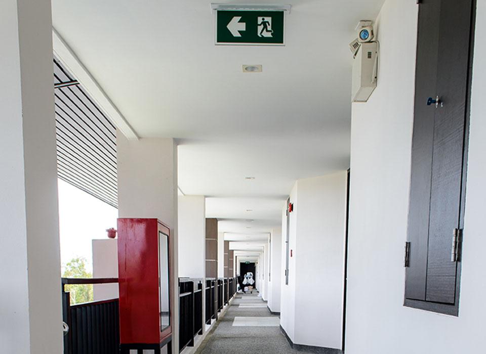 Entreprise d'éclairage de sécurité incendie en Normandie